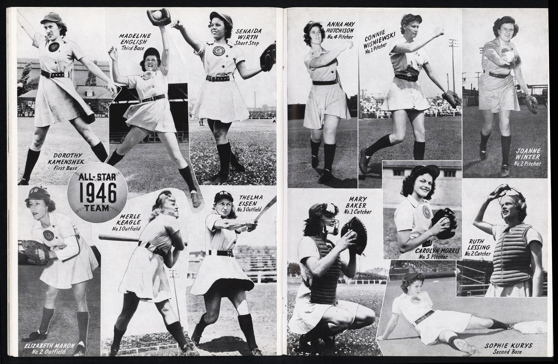 the history of all american girl professional baseball league The paperback of the a whole new ball game: the story of the all-american girls professional baseball league by sue macy at barnes & noble free.
